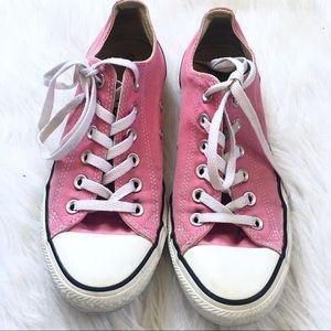 Converse Chucks All Stars Pink Low Top